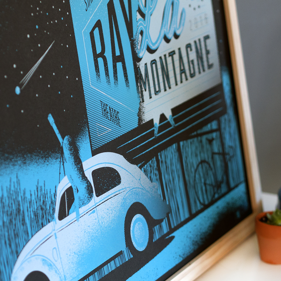 Ray LaMontagne Gig Poster