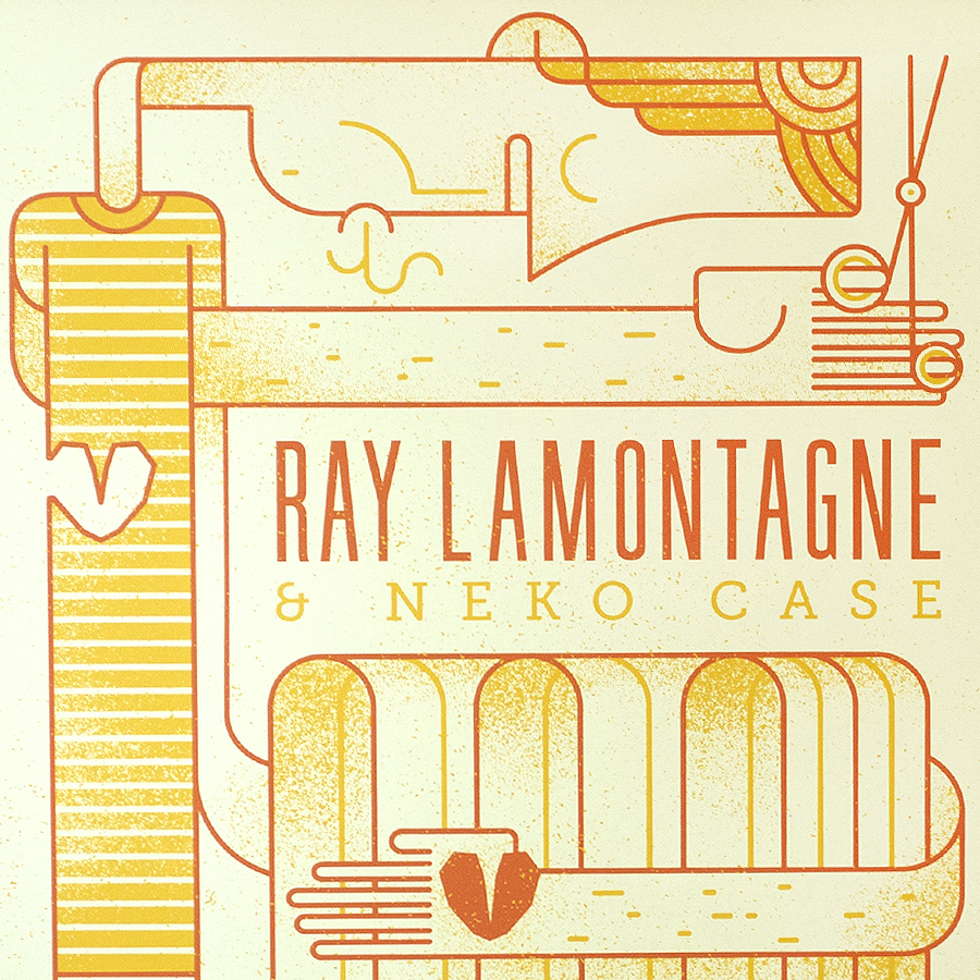 Ray LaMontagne Gig Poster 2018