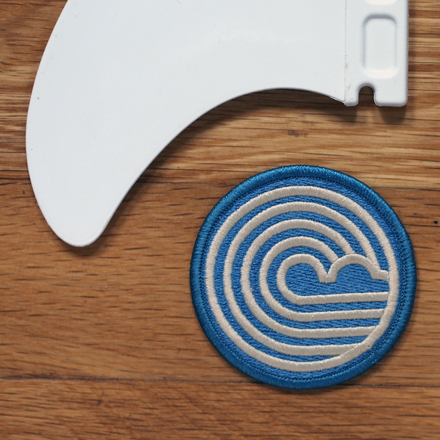 wave field badge